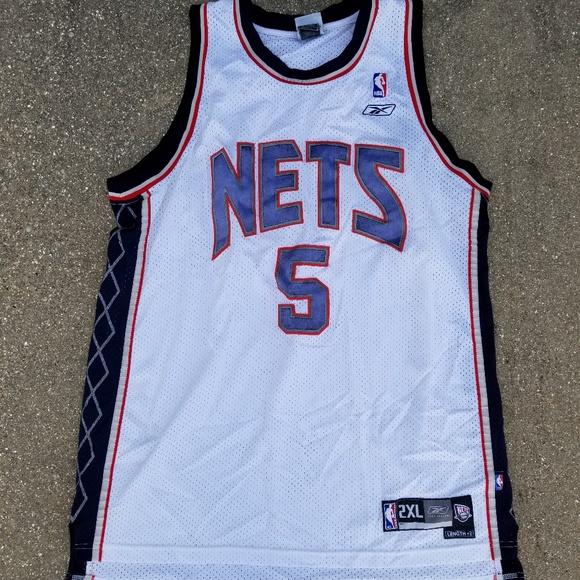 finest selection 6c0c0 461ac Jason Kidd New Jersey Nets jersey